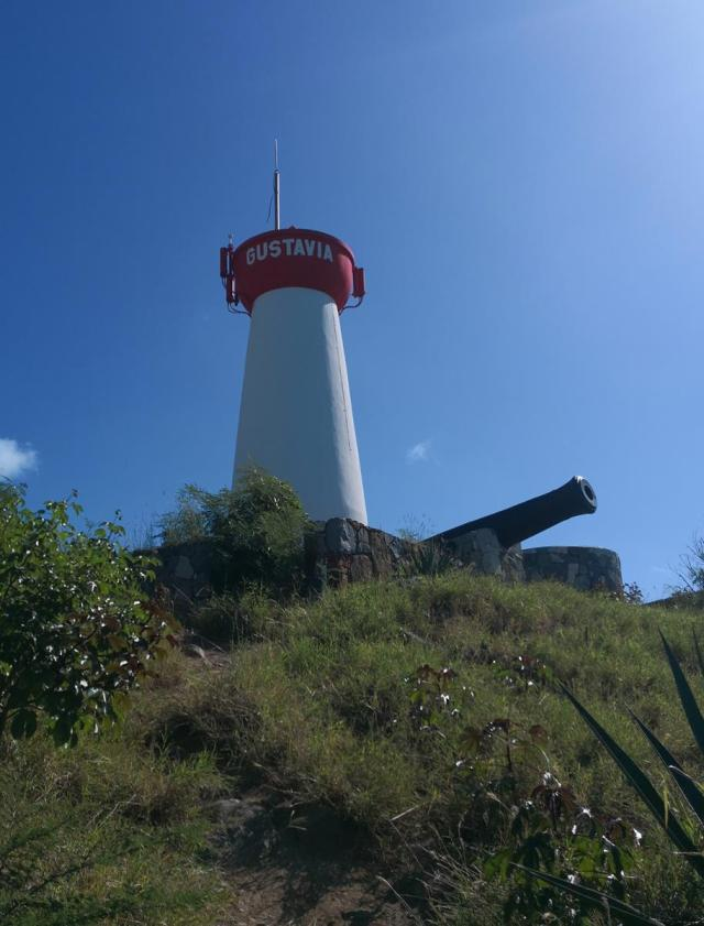 Gustavia light house