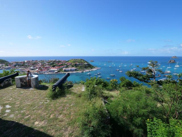 iew from light house St Barth