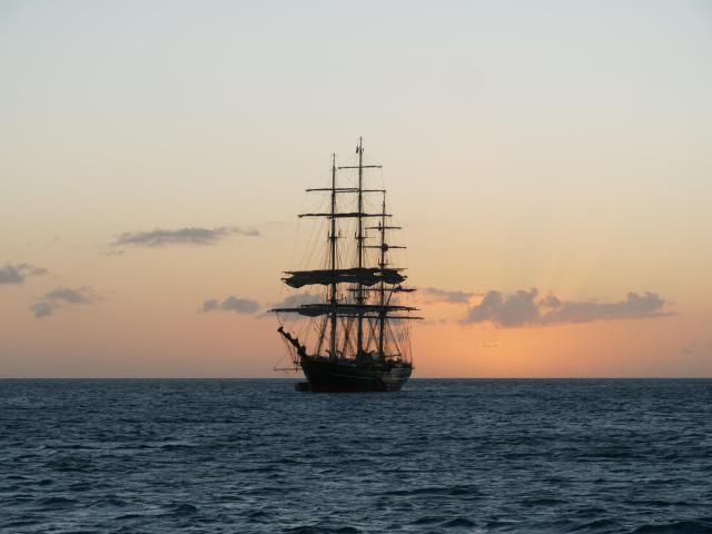 Sun set Portmouth