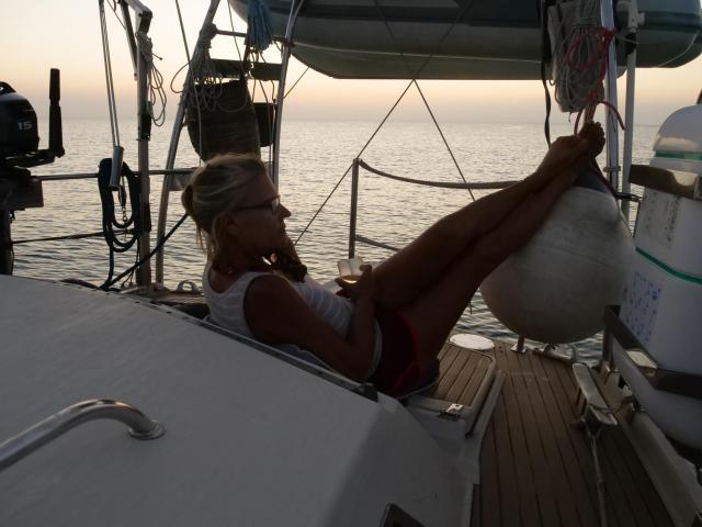 Isla Beata Island evening 3