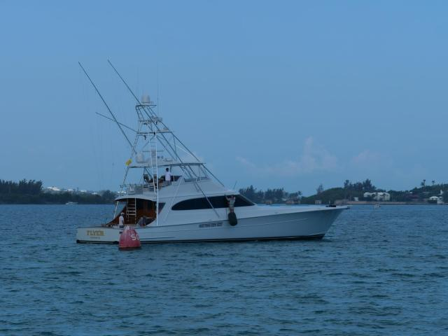 Sport fishingt boat